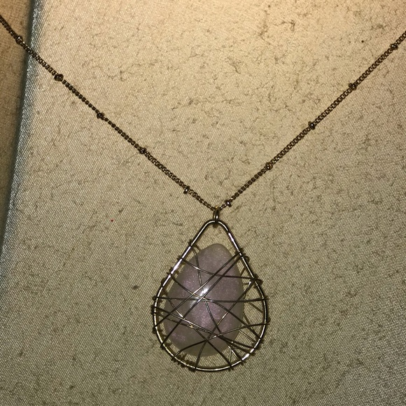 torrid Jewelry - Wired stone necklace